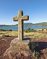 Christian cross at Salagou Lake cf02.jpg
