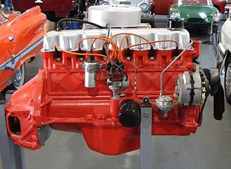 "Chrysler Australia - Prototype of the ""Hemi"" 245-cubic-inch engine"