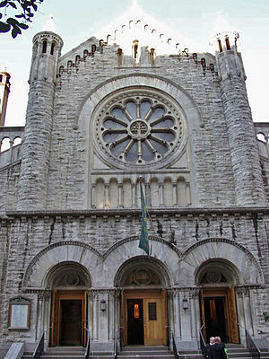 Manhattan Valley - Church of the Ascension, at 107th Street between Amsterdam Avenue and Broadway
