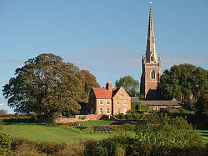 Braunston - Image: Church and Manor