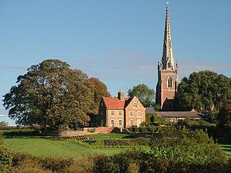 Braunston - Image: Church and Manor