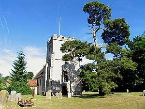 Hampstead Norreys - St Mary the Virgin's Church