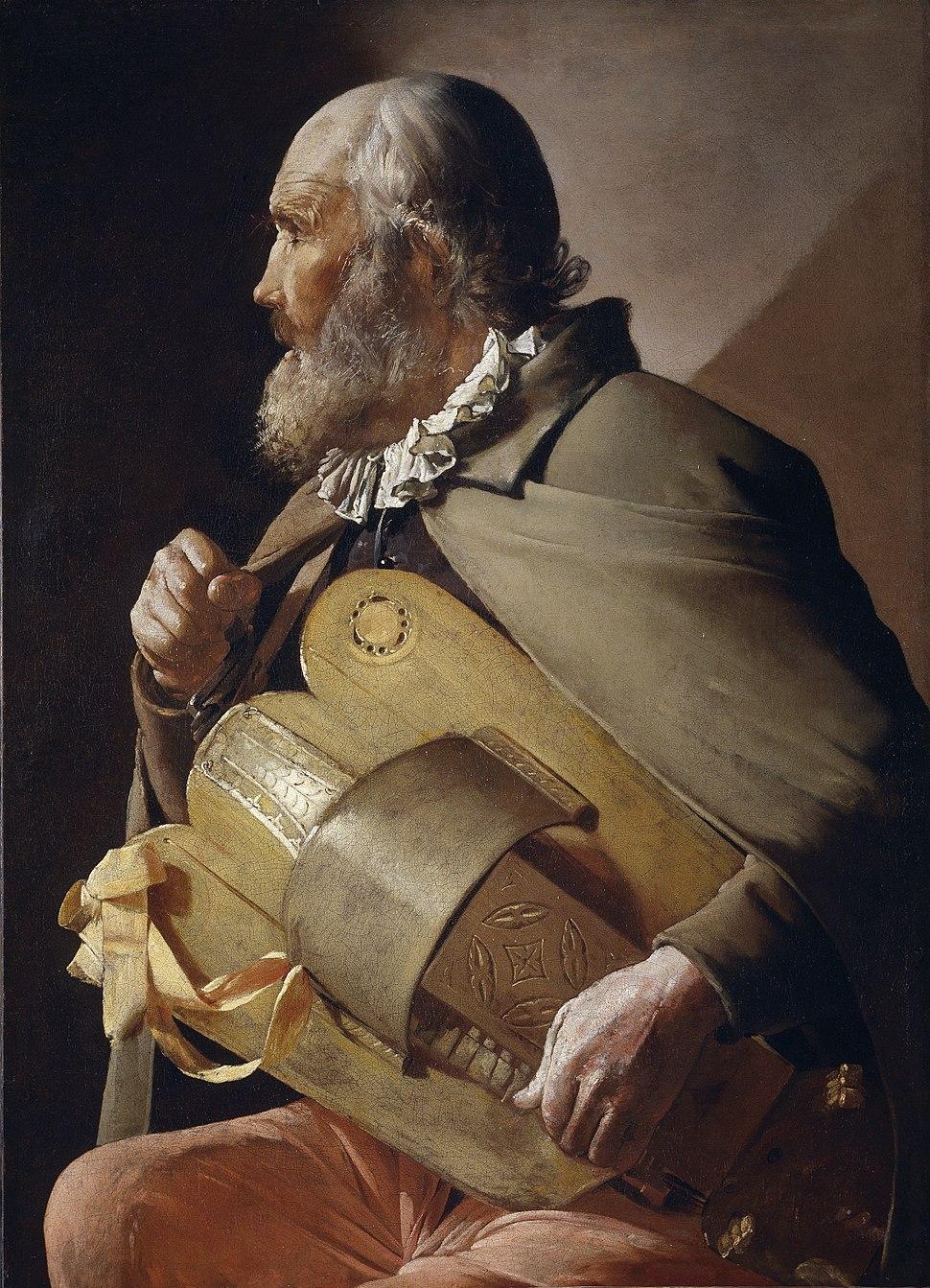 Ciego tocando la zanfonía (Georges de La Tour)