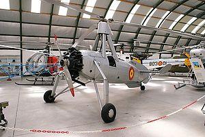 Spanish Air Force - Spanish Cierva C.30 autogyro.