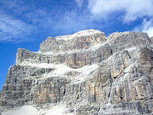 Southern Rhaetian Alps - Cima Brenta Alta, Brenta group