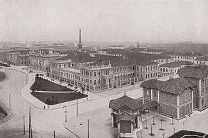 Polytechnic University of Milan - Città Studi buildings in 1930
