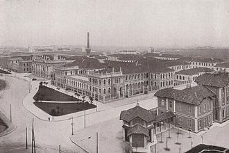 Polytechnic University of Milan - Città Studi buildings in 1930