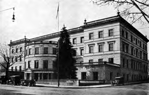 Portland City Hall (Oregon) - City Hall circa 1922