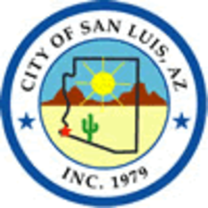 San Luis, Arizona - Image: City of San Luis logo
