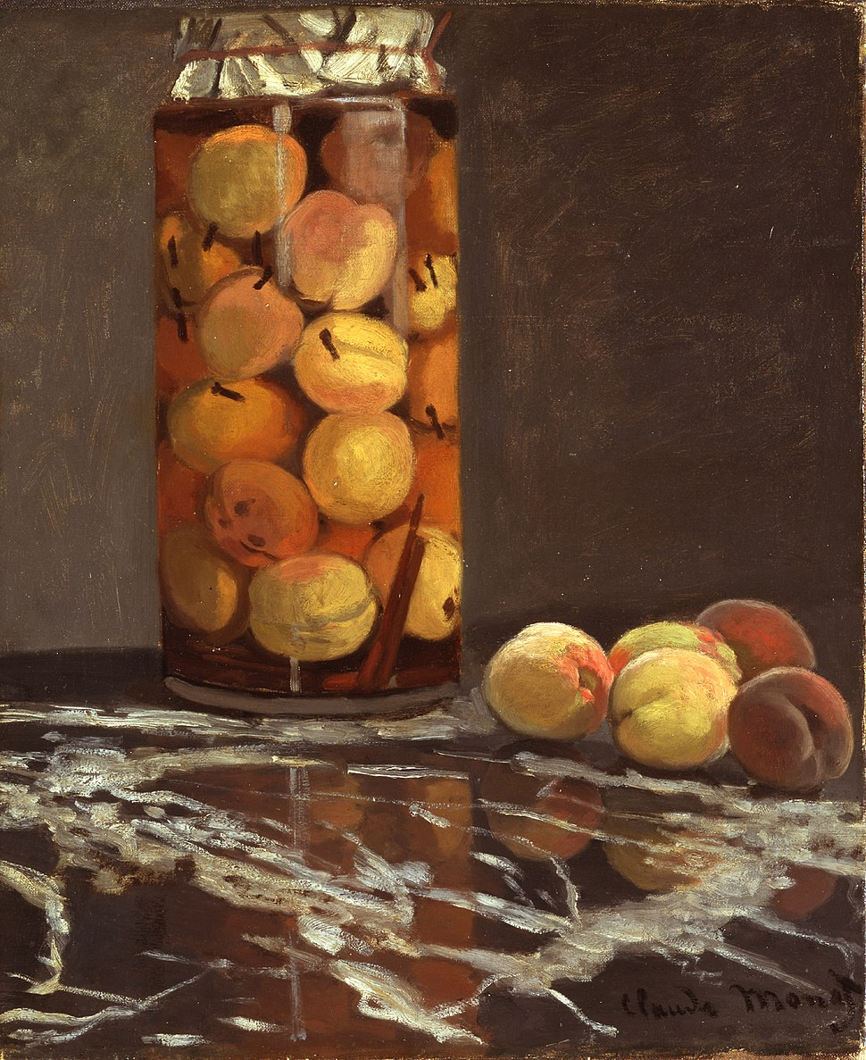 Claude Monet - Das Pfirsichglas