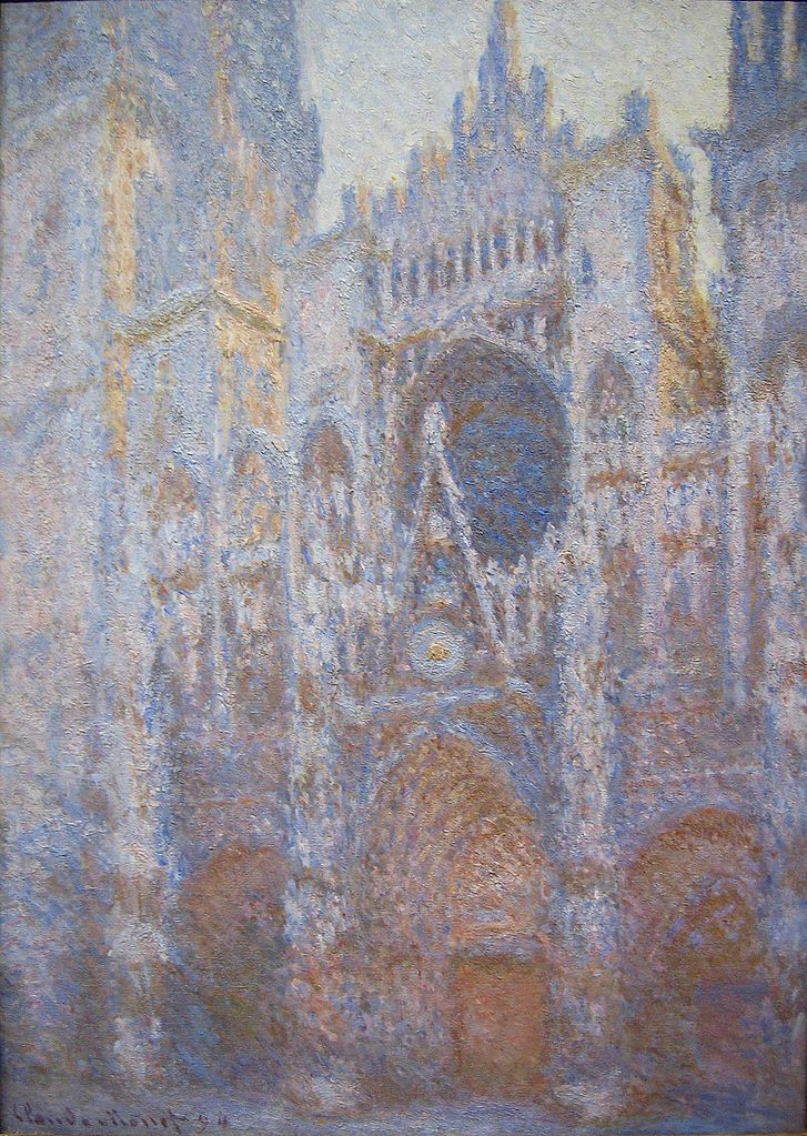 file claude monet rouen cathedral west wikimedia commons. Black Bedroom Furniture Sets. Home Design Ideas