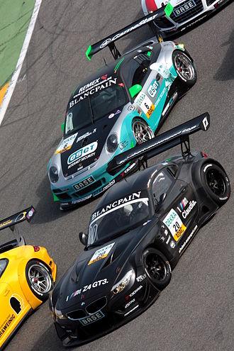 Schubert Motorsport - Schubert's Z4 GT3 in the ADAC GT Masters, driven by Claudia Hürtgen.