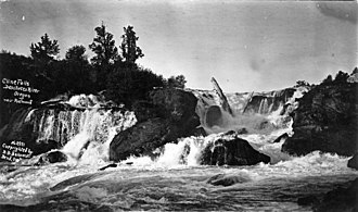 Cline Falls State Scenic Viewpoint - Special Collections image of Cline Falls.