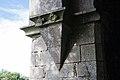 Cloonshanville Priory Tower NW Corbel 2014 08 29.jpg