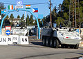 Close Reconnaissance Vehicles - MOWAG gate - UNDOF (11419862985).jpg