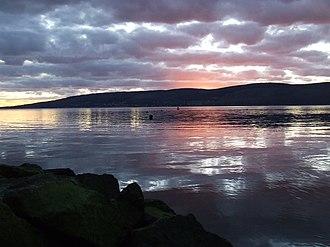 Innellan - Clyde sunset - geograph.org.uk - 728484
