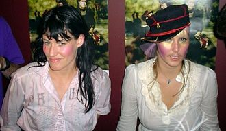 CocoRosie - Image: Coco Rosie Casady sisters cropped