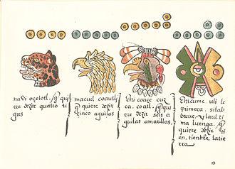 Codex Magliabechiano - Image: Codex Magliabechiano folio 13r