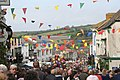 Coinagehall Street Helston on Flora Day - geograph.org.uk - 738566.jpg