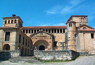 Santillana del Mar - Church of the Colegiata in Santillana