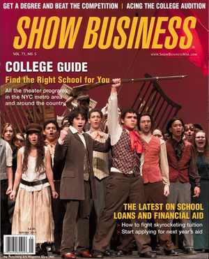 Show Business (magazine) - Image: College Guide Cover no date