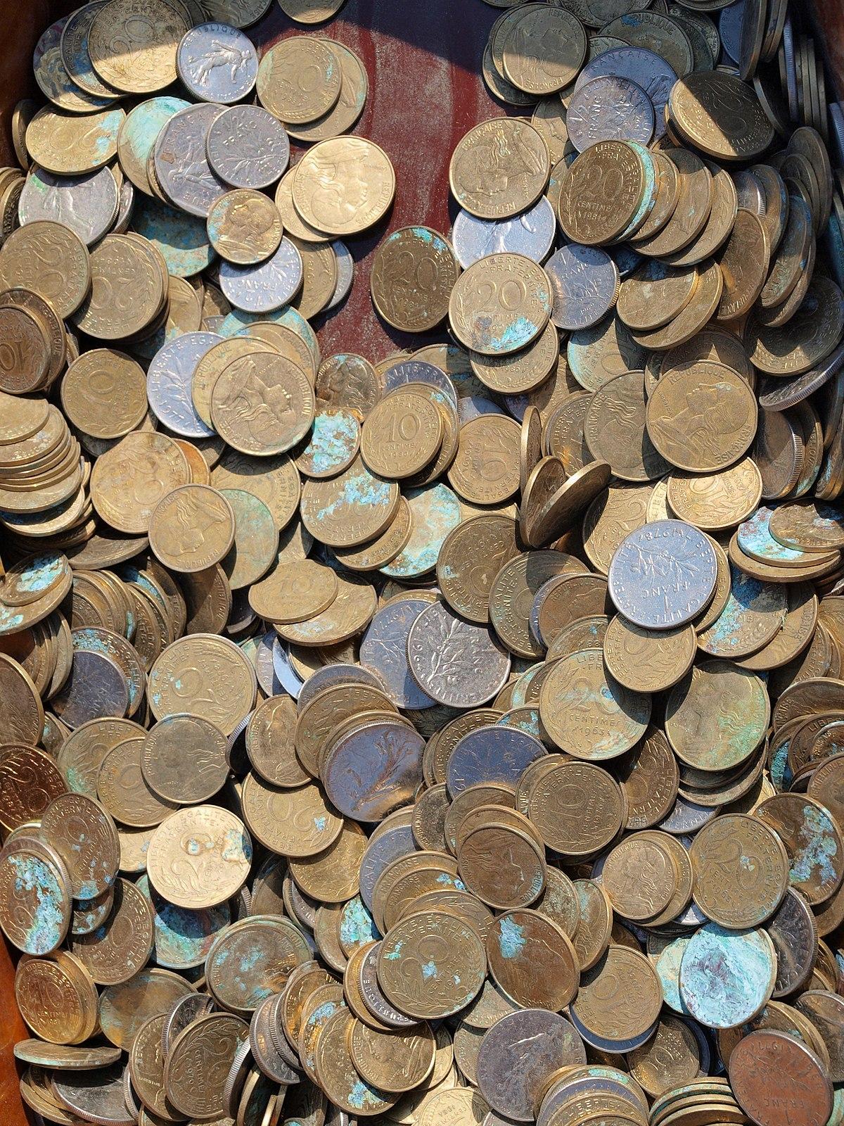 bas prix 60% pas cher qualité de la marque monnaie — Wiktionnaire