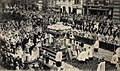 Cologne, Waidmarkt, Corpus Christi procession, cropped from postcard, 1906.jpg