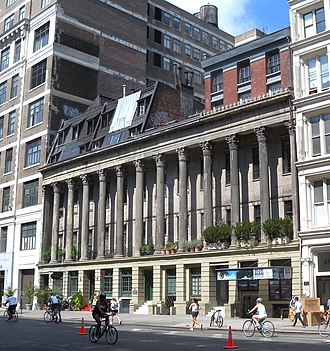 NoHo, Manhattan - Colonnade Row