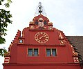Colourful historic gable of the old Townhall Freiburg - panoramio.jpg