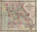 Colton's new map of Missouri - compiled from the U.S. Surveys and other authentic sources LOC 2018588056.jpg