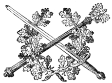 "Fig. 774.—Device from the chief of the ""Prussian Sword Nobility."""