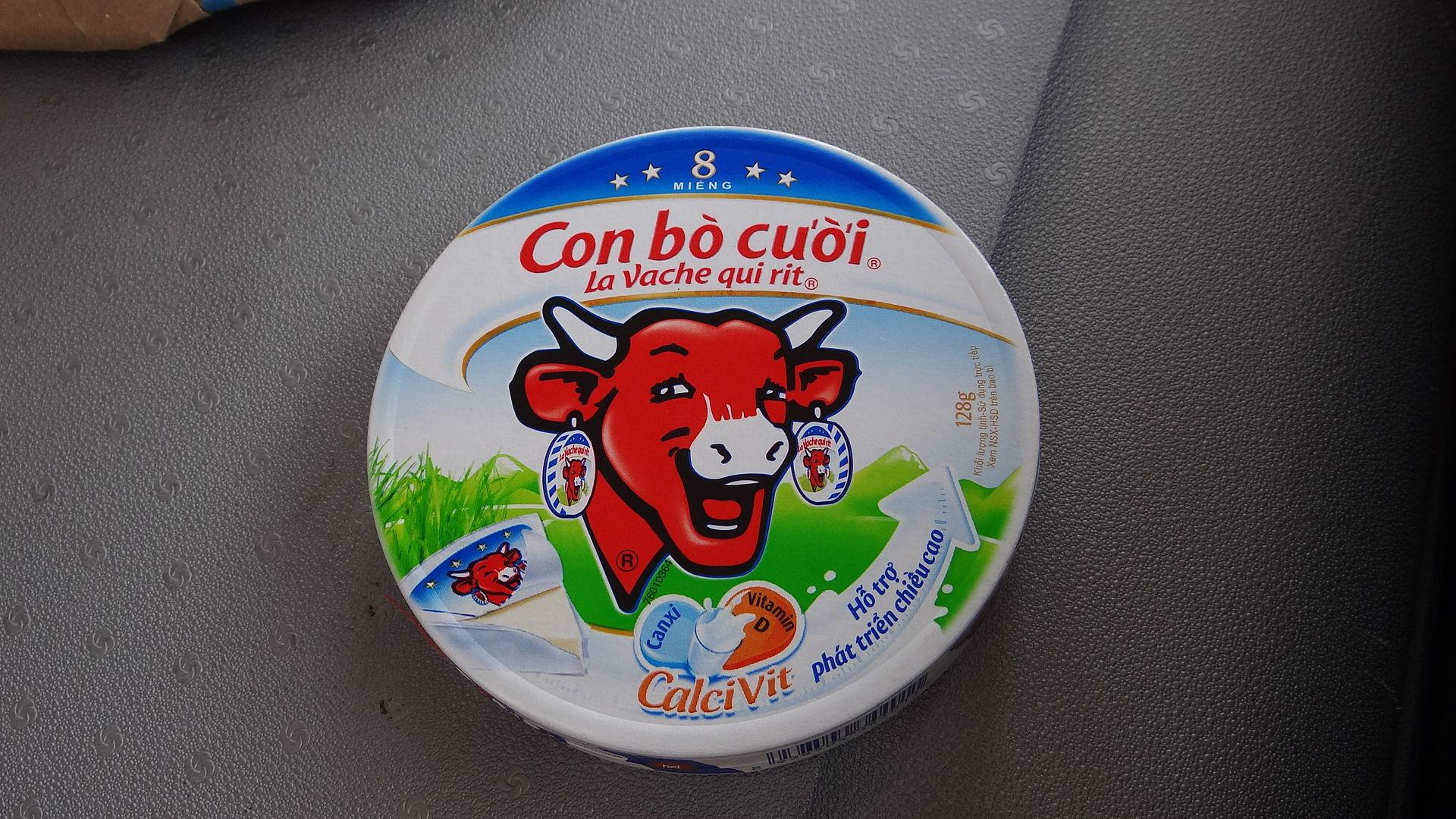 Con bò cười - La vache qui rit au Vietnam.JPG