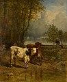 Constant Troyon - Vee bij een drinkplaats - 0441 - Rijksmuseum Twenthe.jpg