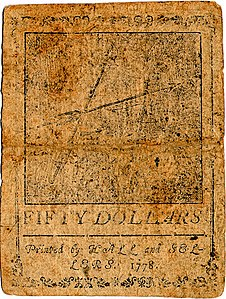 Continental Currency $50 banknote reverse (September 26, 1778).jpg