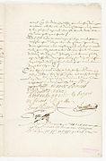 Contrat de mariage entre Molière et Armande Béjart, 23 Janvier 1662. Page 3 - Archives Nationales - ET-XLII-152 (RES-386).JPG