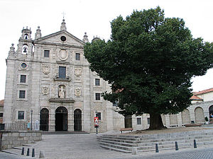 Deutsch: Convento de Santa Teresa in Ávila