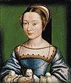 Corneille de Lyon - Portrait of a lady holding a puppy.jpg