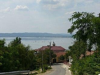Coronini - View over Coronini and the Danube