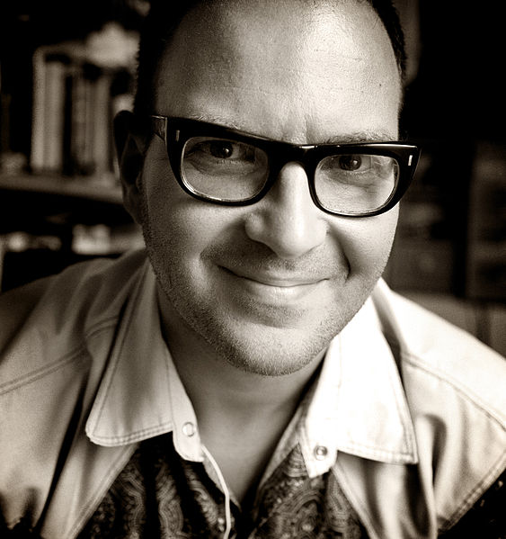 Файл:Cory Doctorow portrait by Jonathan Worth 2.jpg