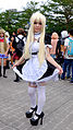 Cosplayer of Maid Sena Kashiwazaki, Haganai at CWT40 20150809a.jpg