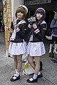 Cosplayers of Sakura Kinomoto and Tomoyo Daidouji 20150830a.jpg