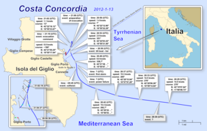 Costa Concordia map 13-1-2012.png