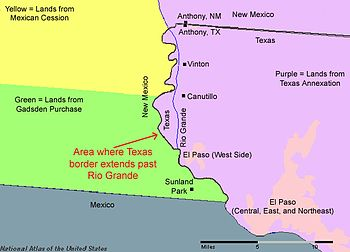 texas new mexico boundary dispute essay