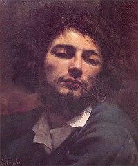 Gustave Coutbet Selbstbildnis mit 24 Jahren, beim Haschischrauchen
