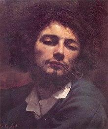 Selbstporträt, Mann mit Pfeife