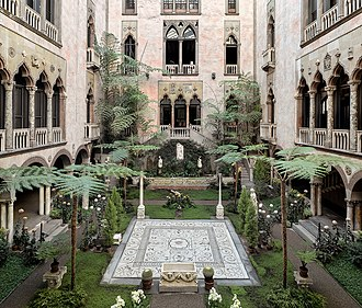 Isabella Stewart Gardner Museum - Courtyard