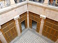 Courtyard view from first floor balcony - Mukhi Mahal.jpg