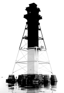 Craighill Channel Lower Range Rear Light lighthouse in Maryland, United States