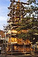 Crailsheim 1979 - Wiederbekroenung des Rathausturmes 3.jpg