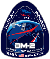 Emblemat SpaceX DM-2